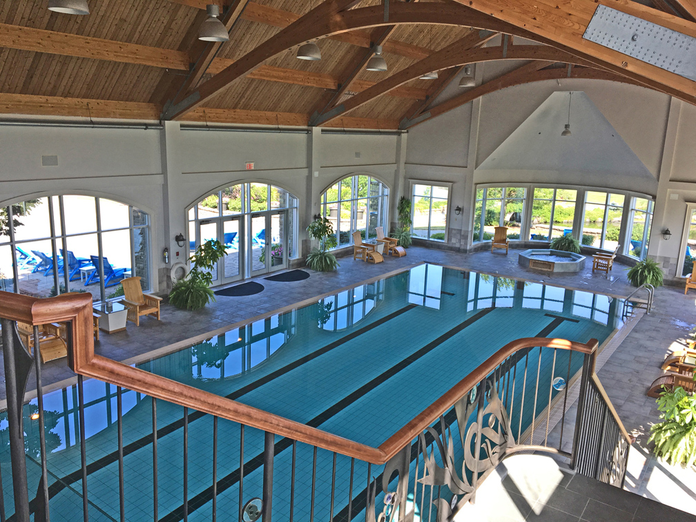 And Below The Spa Is An Impressive Fitness Studio And Aquatic Centre That  Includes A Beautiful Junior Olympic Sized Saltwater Pool As Well As A  Mineral Pool ...